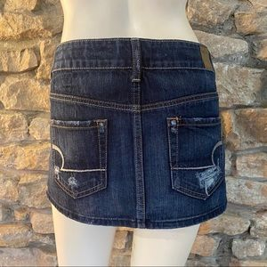 American Eagle Outfitters Skirts - AMERICAN EAGLE MICRO-MINI SKIRT SIZE 0